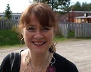 Lyrikar Bente Bratlund, portrett