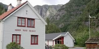 Bjørn West-muséet på Matre